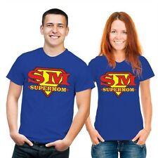 Markenlose mehrfarbige Damen-T-Shirts mit Rundhals