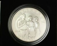 2014 Civil Rights Act of 1964 Commemorative Uncirculated Silver Dollar Coin OGP