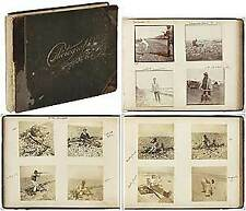 Dewitt HUBBELL / Photo Album Early Snapshots including Sporting 1899