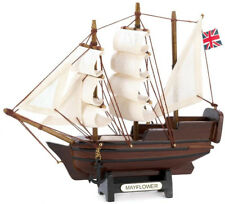 Gifts and Decor Historical Nautical Decor Mini Mayflower Ship Model Collectible