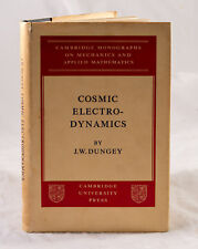 COSMIC ELECTRODYNAMICS BY J. W. DUNGEY - COPY FOR REVIEW IN 1958