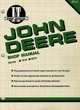 "John Deere 1010 2010 Tractors I+T Shop Manual Jd-21 ""New"""