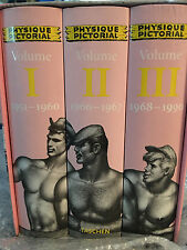 HTF 3 Book Set Taschen Physique Pictorial 1951-1990 Complete Reprint  Gay Int.