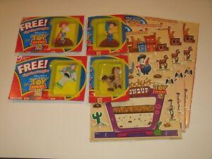 Toy Story 2 Figurine Dangler set General Mills cereal Christmas ornament lot