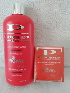 Pr. Francoise Bedon Royal Lightening Body Lotion and Exfoliating Soap