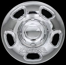"4 CHROME 04-12 Ford F150 17"" Wheel Skins Hub Caps Simulators Hubs Lug Rim Covers"