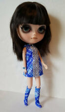 BLYTHE DOLL CLOTHES Plaid DRESS, BOOTS & JEWELRY HM Fashion NO DOLL dolls4emma