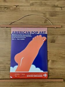 Original Tom Wesselmann Foot Pop Art Exhibition Poster