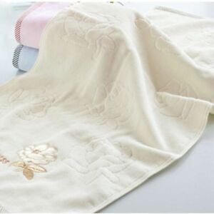 High Quality 100% Cotton Towels For Adults Home Kitchen Bathroom Towel 3 Colors