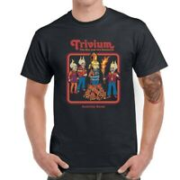 Trivium Men Funny Graphic Short Sleeve T-Shirt Tops Tee Shirts
