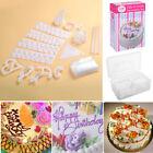 100 Piece Set Birthday Wedding Cake Cupcake Cookie Decorating Craft Design Kit