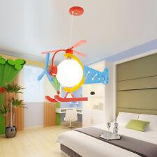 Hanging Helicopter Lamp Ceiling Light Children Kids Room Lighting Chandelier