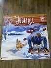 Rare Fiber Art Banner Poster Deshutes Brewery Jubelale Beer Lubbesmeyer Vinyl 3'