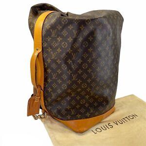 RARE VINTAGE 90s Louis Vuitton Monogram Sac Marin XL Duffle Bag Travel Tote