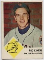 1963 Fleer #49 Rod Kanehl VG/EX+ New York Mets FREE SHIPPING