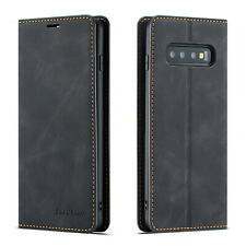 Leather Flip Card Holder Stand Case Cover For Samsung Galaxy S10 Plus Case S10e