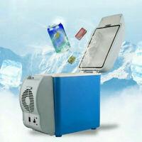 Portable Mini Car Refrigerator Outdoor Travel Car Freezer Cold Drink Storage 5L