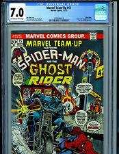 Marvel Team Up #15 CGC 7.0 1973 Marvel Comics 1st Orb Amricons K48