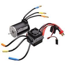 Racerstar 3650 Sensorless Brushless Waterproof Motor 60A ESC For 1/10 Monster Tr