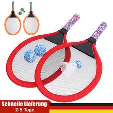 5x Kinder Badminton Set Federball Tennis Schläger Federballschläger Outdoor DHL