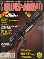 Vintage Magazine GUNS & AMMO May 1980 !!! KAWAGUCHIYA M-250 SHOTGUN, Japan !!!