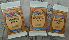 x3 Revised Edition Booster Pack x3 - Factory Sealed! Vintage Magic MTG - Lot 1