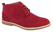 NIB MEN WALLACE ANKLE BOOTS DESERT MARTIN SUEDE LINED LEATHER CHUKKA BOOTS DAKTA