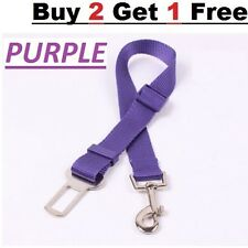Adjustable Dog Safety Seat Belt Restraint For Car Van Lock Pet Lead Travel Clip