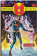 Miracleman (Eclipse 1985) #1 2 3 4 5 6 Alan Moore Alan Davis