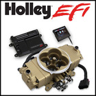 Holley EFI Fuel Injection Terminator Stealth EFI System CLASSIC GOLD FINISH