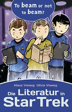 Die Literatur in Star Trek NEUWARE Sachbuch Cross Cult