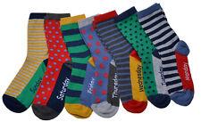 5 x Boys Kids Children Days of the Week School Socks Novelty MON-FRI