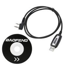 USB Programming Cable + CD for Baofeng UV-5R 666S 777S 888S UV-B5 UV-B6 Radio