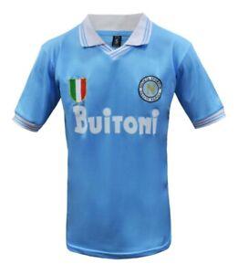 Napoli Buitoni Maradona Retro Soccer Jersey Argentina