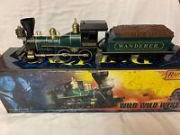 ✅MTH RAILKING WILD WILD WEST WANDERER 4-4-0 19th CENTURY GENERAL STEAM ENGINE!