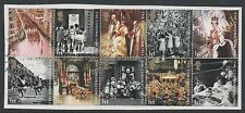 GB 2003 50th Anniversary of Coronation fine used set stamps on piece
