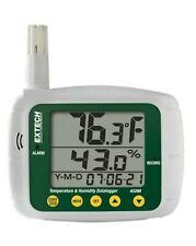 Extech 42280 Temperature and Humidity Data Logger W/Large Display!