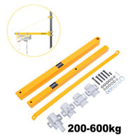 Schwenkarm Halterung für Seilzug Seilhebezug Seilwinde max. 600 kg - 1100 mm IS