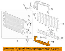 GMC GM OEM 2018 Terrain 2.0L-L4 Radiator-Lower Baffle 23463188
