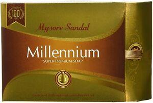 Mysore Sandal Millennium Soap  150 GM  Sandalwood  Premium Bath Soap