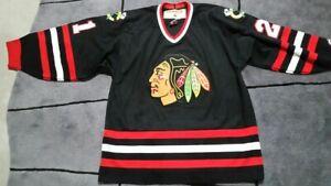 Chicago Blackhawks Koho alternate jersey. Good condition. Large. Number 21