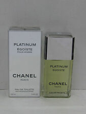 PLATINUM EGOISTE POUR HOMME BY CHANEL 3.4 oz 100ml EAU DE TOILETTE SPRAY MEN NEW
