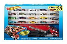 Hot Wheels City Mega Hauler With 20 Die Cast Cars/vehicles Set 2016