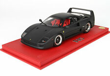 Ferrari F40 1987 nero opaco 1/18 lim.ed. 07/20 P18151MB BBR NO DISPLAY