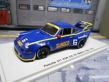 PORSCHE 911 Carrera RSR 2.8 Long Tail Sunoco #6 WG CanAm 1973 NEW Spark 1:43