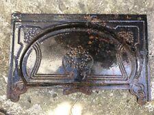 CAMINO CAPPA Ottone Antico Art Nouveau Design GHISA CAMINO