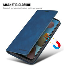 For Samsung Galaxy A21S 41 A51 A50 Magnetic Wallet Flip Leather Stand Case Cover