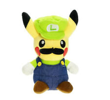 "ALL NEW 8"" / 20cm Super Mario Pokemon Pikachu Luigi Plush Soft Toy Teddy UK"