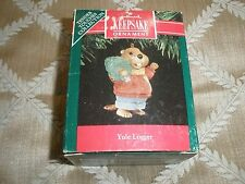 """1991 Collectible Hallmark Ornament, Tender Touch Collection """"Yule Logger"""" T8511"""