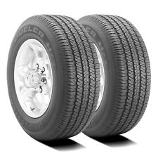 2 New Bridgestone Dueler H/T 684 II 255/70R18 112T Dealer Take Off (New)